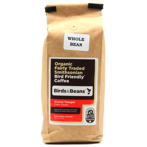 Birds & Beans Scarlet Tanager Coffee