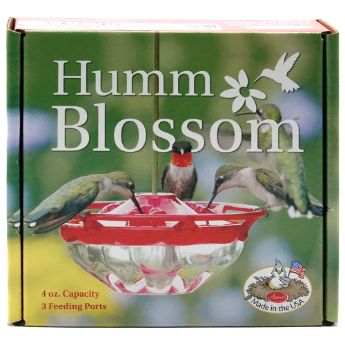 HummBlossom Hummingbird Feeder, 4 oz, Rose