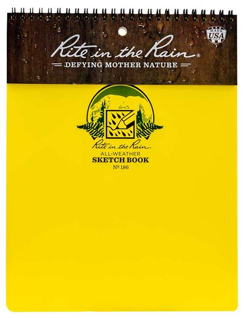 Rite in the Rain Sketchbook, No. 186
