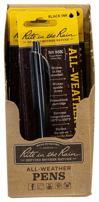 Rite in the Rain All-weather durable clicker pen, No.93K