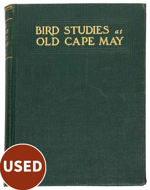 Bird Studies at Old Cape May, 2 vol used books