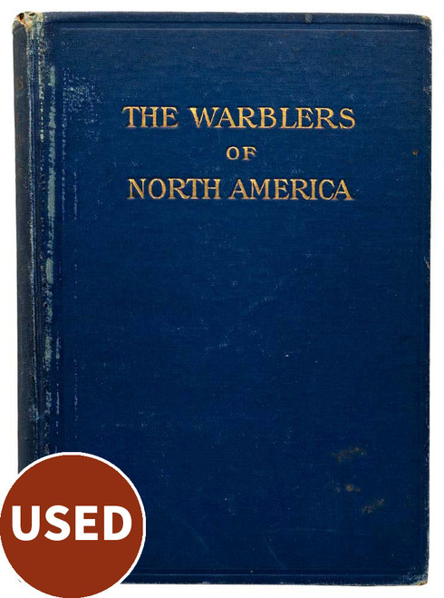 The Warblers of North America, by Frank M. Chapman used book