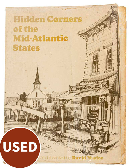 Hidden Corners of the Mid-Atlantic States, by David Yeadon, used book