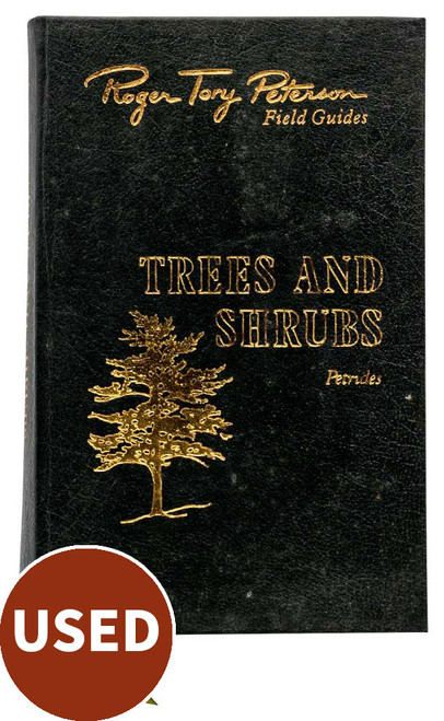 Peterson's Field Guide - Trees & Shrubs, by George A. Petrides, front cover