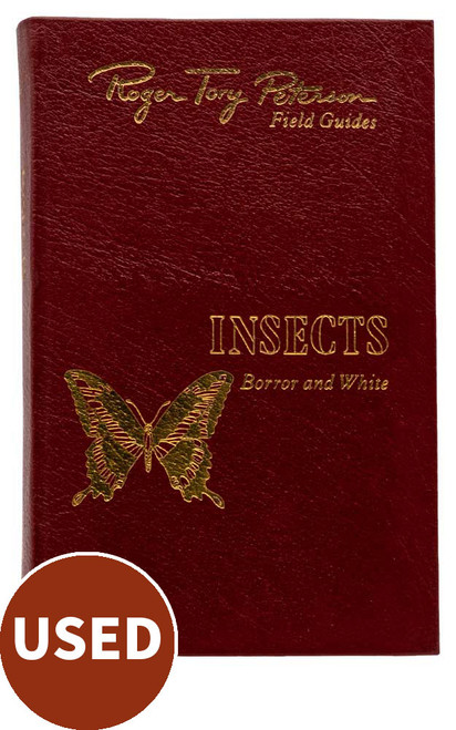 Peterson's Field Guide - Insects of America North of Mexico, by Donald J. Borror & Richard E. White, front cover