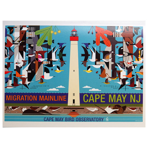 Charlie Harper, greeting card, migration mainline