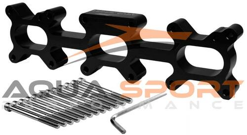 Sea-Doo 1503cc 4TEC Rotax Exhaust Spacer Kit in black