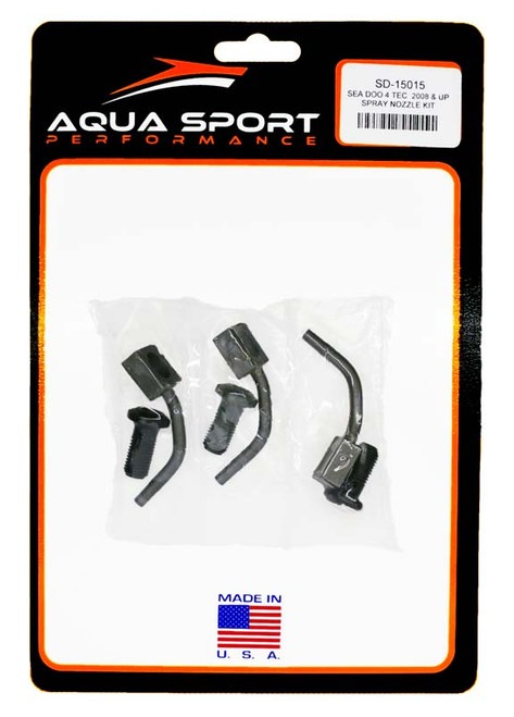 Sea-Doo 4-TEC year 2008 and up PWC Spray Nozzle Kit