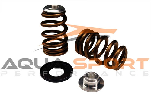 Beehive Single Valve Spring, Retainer and Locator kit Yamaha Waverunner 2004 upwards YH-KIT5