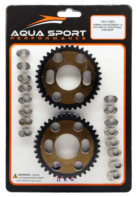 Adjustable Cam Gears with Bushings for Yamaha Waverunner 1.8L 2014+ YH-11001