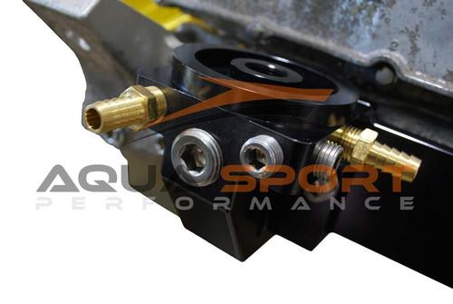 yamaha pwc oil cooler delete adapter AquaSport Performance