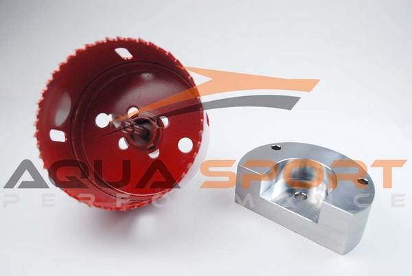 Sea-Doo RXP-X RXT-X GTX 255 260 2004-2015 Intake Manifold Upgrade Kit with  Hole Saw Tool