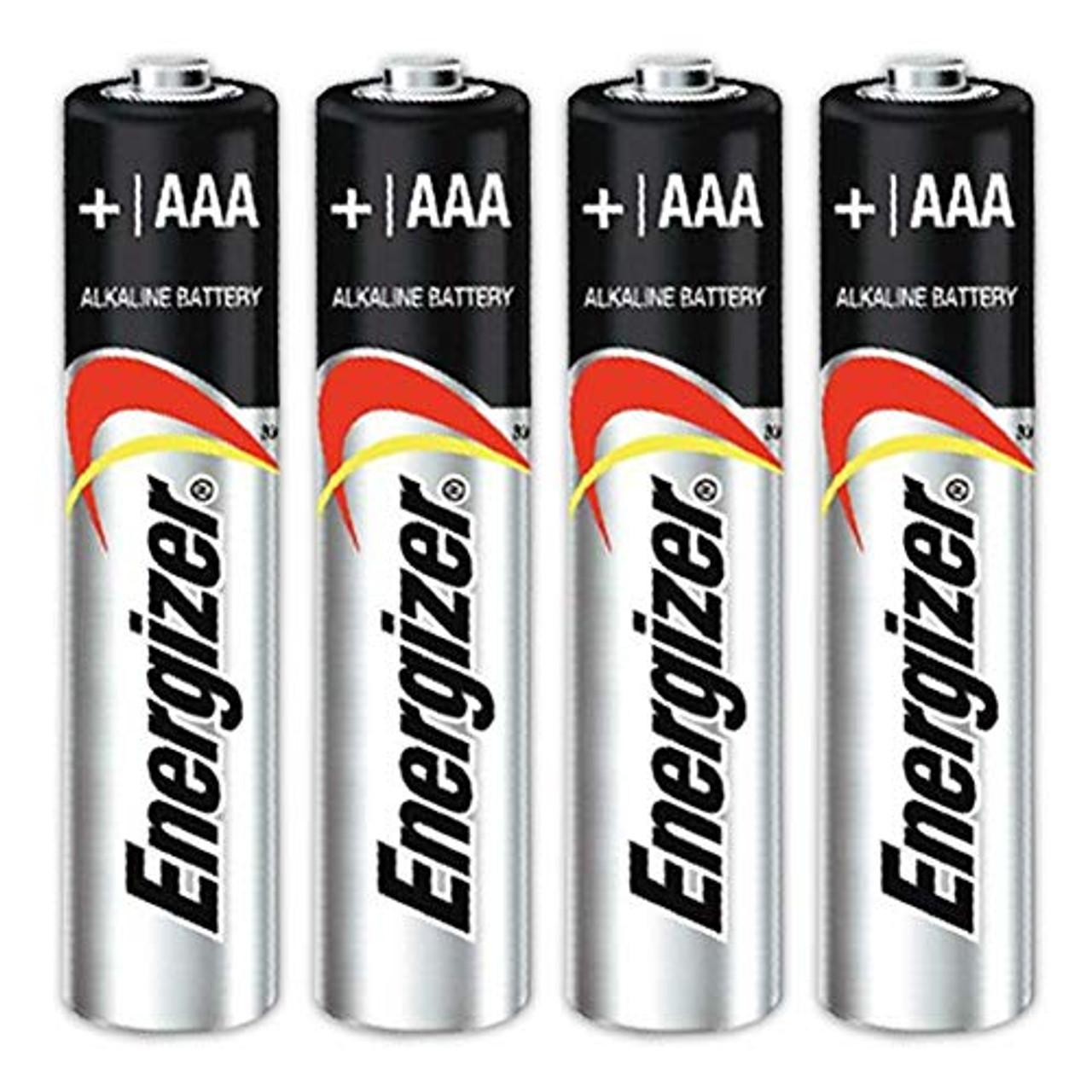 Energizer Max Alkaline AAA Batteries 4 Count