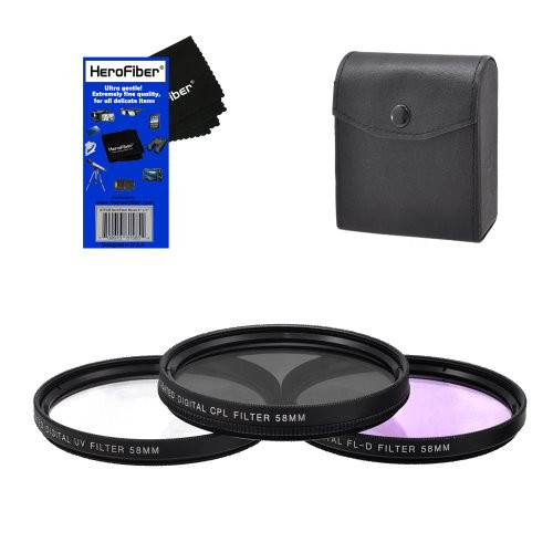 for Nikon AF-S VR Zoom-Nikkor 70-300mm f//4.5-5.6G IF-ED 67mm Circular Polarizer Multicoated Glass Filter CPL Microfiber Cleaning Cloth
