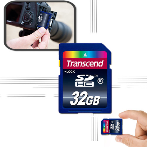 32GB Memory Card for Panasonic Lumix DMC-FZ60
