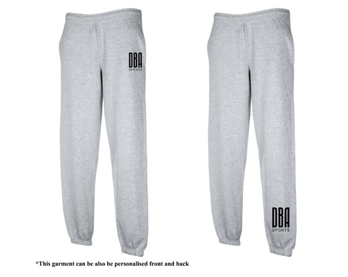 'DBA' Unisex Tracksuit Bottoms - (Closed Hem)