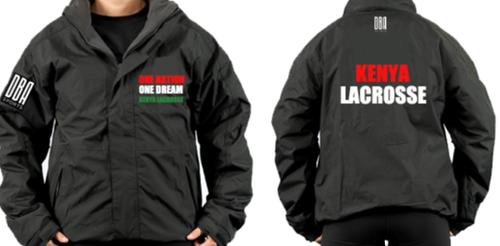 'KENYA LACROSSE' Waterproof Fleece Jacket