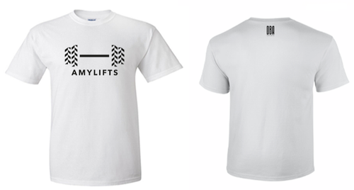 'AMYLIFTS' Unisex T-shirt