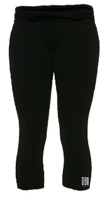 'KENYA LACROSSE' Black Leggings