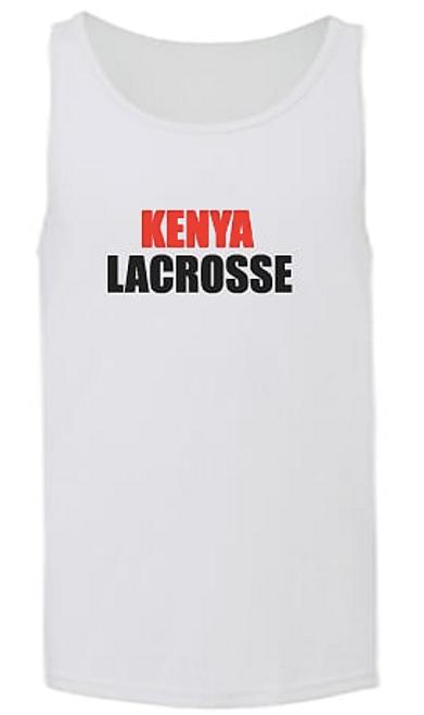 'KENYA LACROSSE' Mens Tank