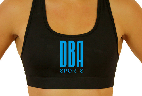 'DBA LOGO' Personalised Sports Bra