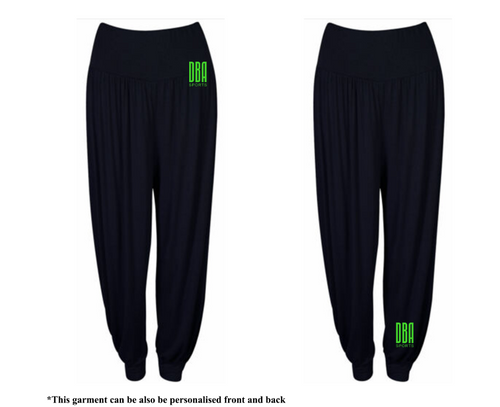 'DBA' Harem Pants