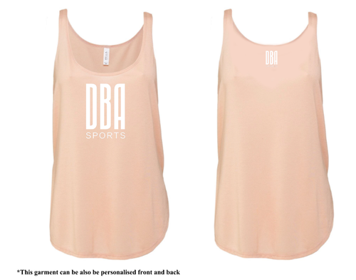 'DBA' Flowy Side Slit Tank