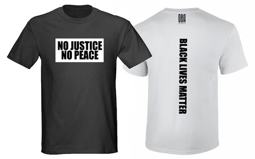 'BLACK LIVES MATTER' Personalised T-shirt