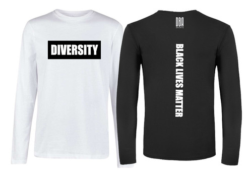'BLACK LIVES MATTER' Personalised Long Sleeve T-shirt