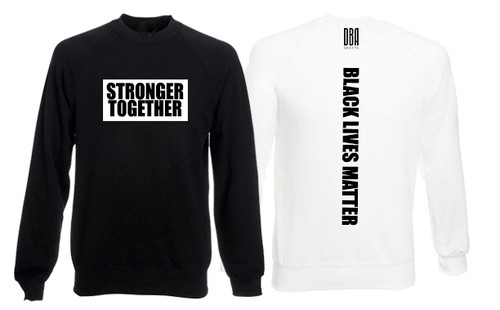 'BLACK LIVES MATTER' Personalised Sweatshirt