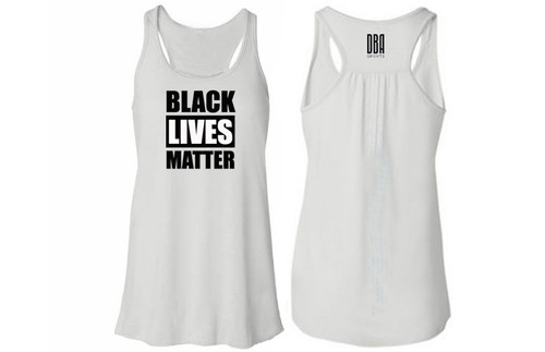 'BLACK LIVES MATTER' Womens Tank