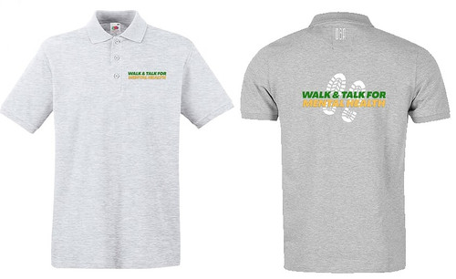 """WALK AND TALK"" Polo Shirt"