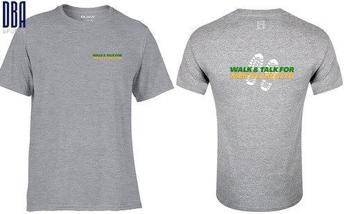 """WALK AND TALK"" T-shirt"