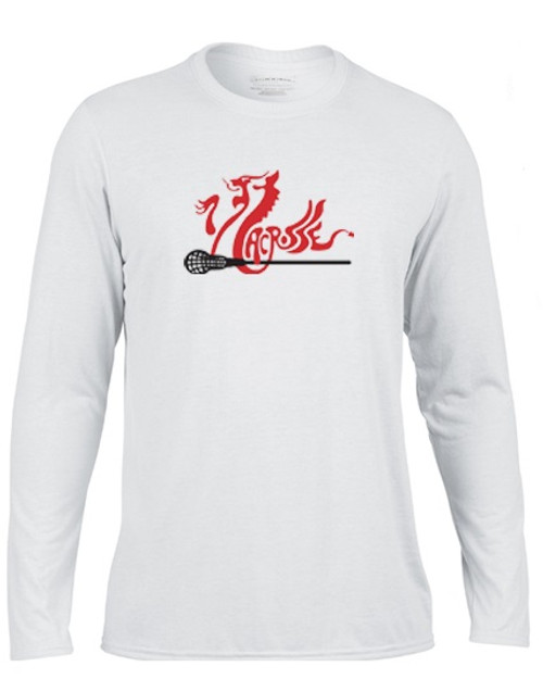 'WALES' White Long Sleeve