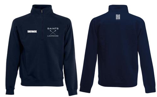 """""""ST ANDREWS"""" 1/4 Zip Sweatshirt"""