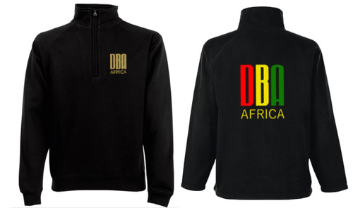 'DBA AFRICA' 1/4 Zip Jumper