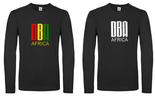 'DBA AFRICA' Long Sleeve T-Shirt