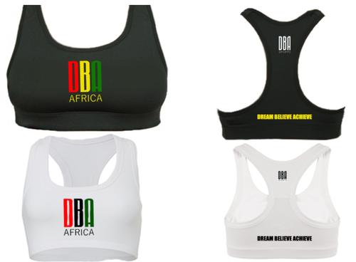 'DBA AFRICA' Sports Bra