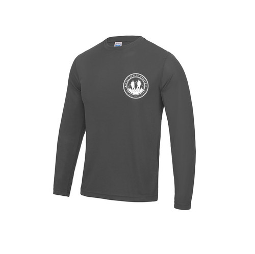 'MHW' Long Sleeve Performance T