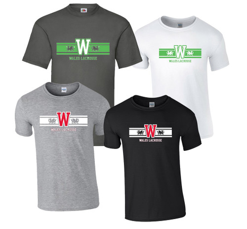 'WALES LACROSSE' New T-shirts