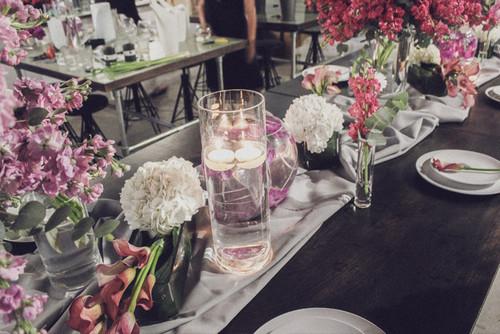 Floral Tablescape Day Course