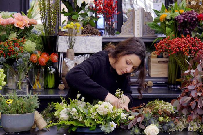 Floral Seasonal Table Arrangement