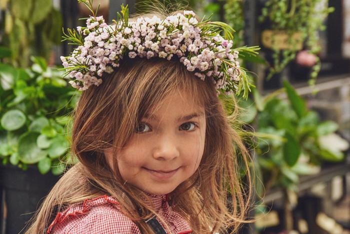 Flower Crown making