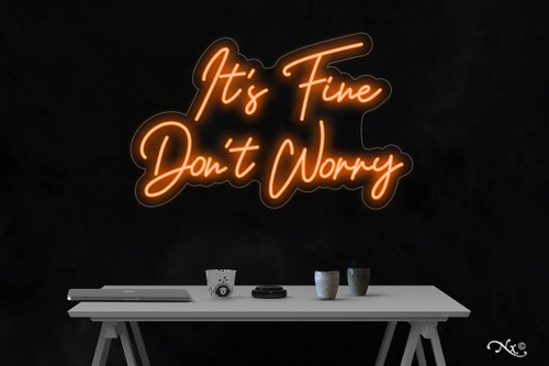 Its fine dont worry 20x23x1in. LED Neon Flex Sign-LF218