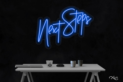 Next steps 20x28x1in. LED Neon Flex Sign-LF221