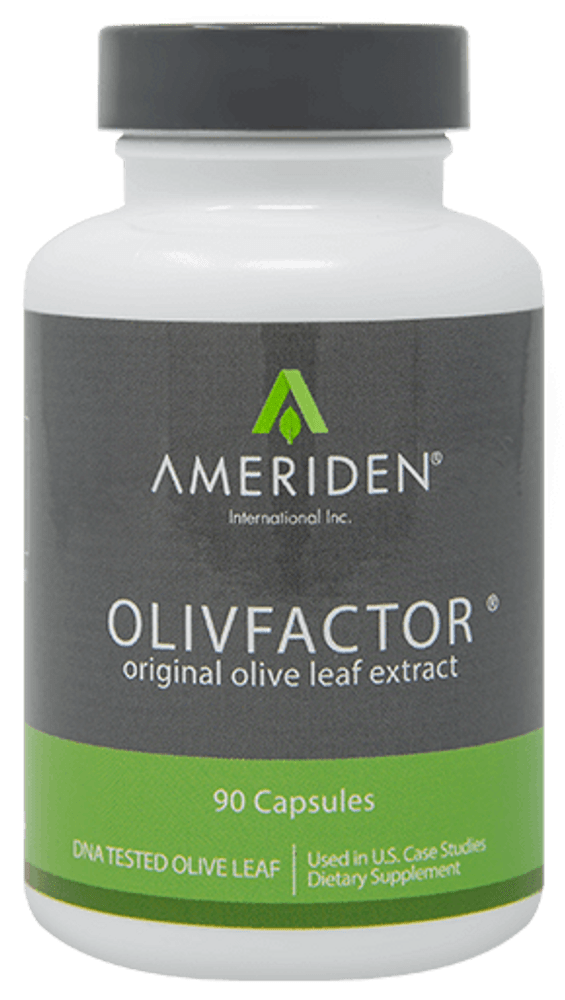 OLIVFACTOR - The Original Olive Leaf Extract - 500 mg, 90 caps
