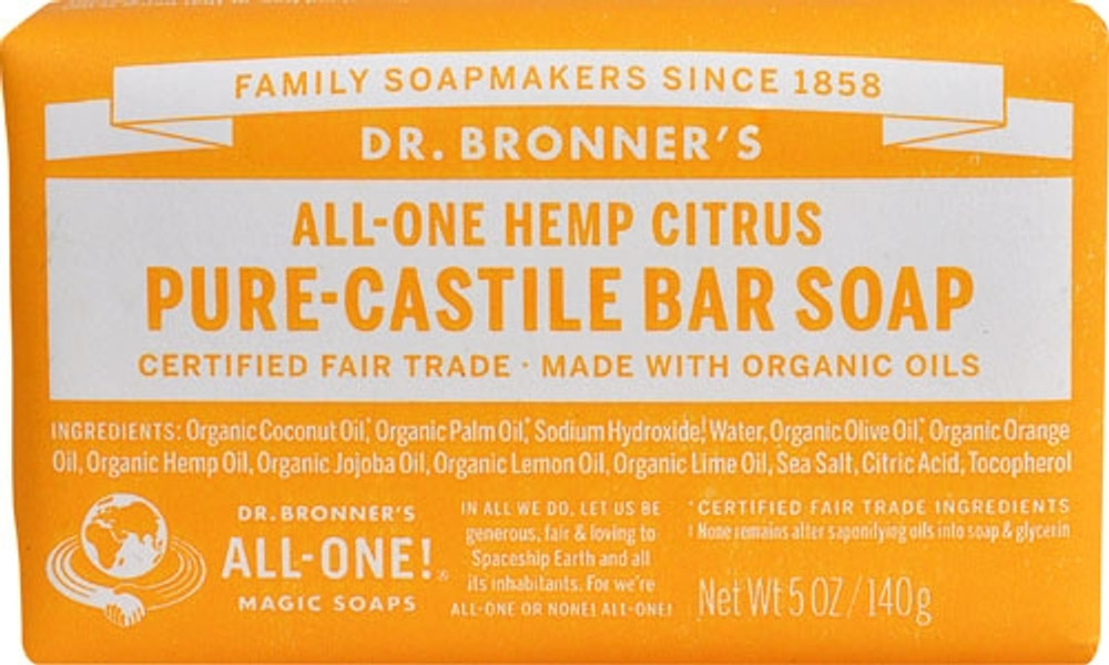 Dr. Bronner's Magic Soap - Citrus Orange CASTILLE Soap