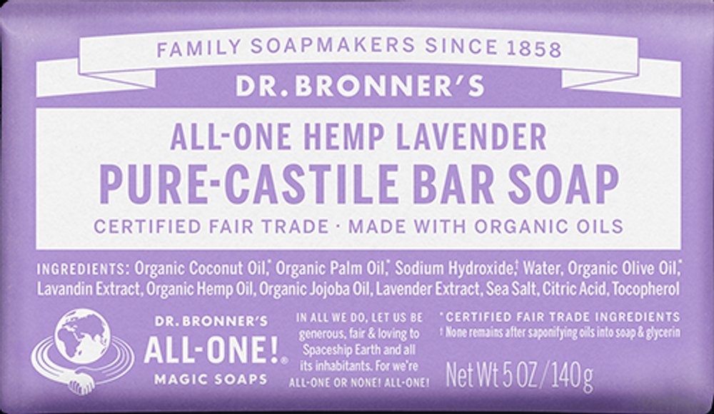 Dr. Bronner's Magic Soap - Lavender CASTILLE SOAP