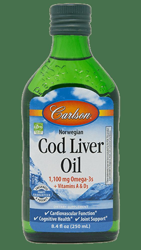 Cod Liver Oil, Professional Formula - 8.4 fl. oz.