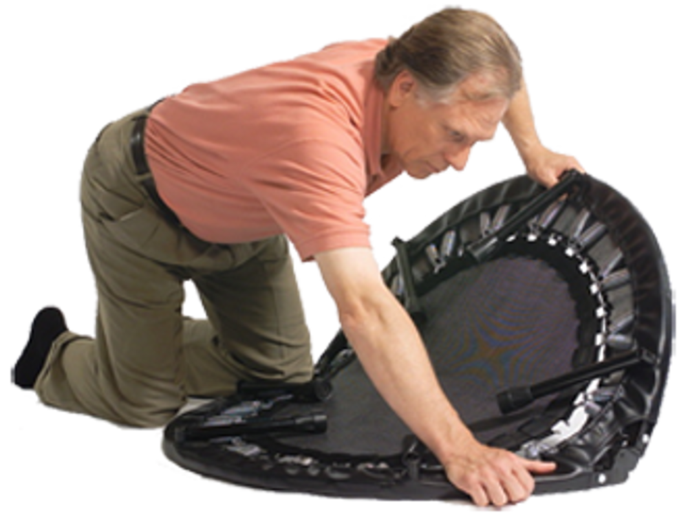 Folding Rebounder - HARD BOUNCE